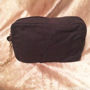 YSL Parfums Makeup Bag/Clutch